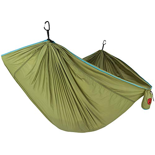 GRAND TRUNK TrunkTech Double Hammock - Green/Aqua