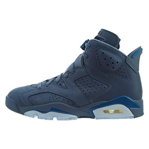 Jordan Air 6 Retro, Zapatillas de Deporte Hombre, Multicolor (Diffused Blue/Court Blue/Diffused Blue 400), 45 EU
