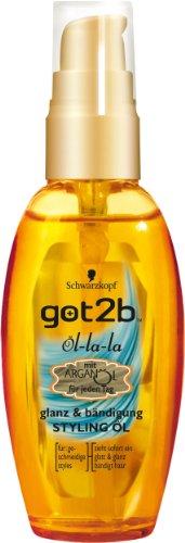 Schwarzkopf got2b Lotion la Styling Öl, 1er Pack (1 x 50 ml)