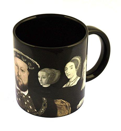Unemployed Philosophers Guild Henry VIII Kaffeetasseder verschwindenden Frauen –Nach Aufgießen von heißem Wasser Verschwinden Henrys Frauen–In Einer lustigen Geschenkbox, von The