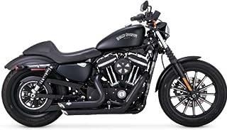 Vance & Hines Shortshots Staggered negro Harley Davidson Sportster 14-15