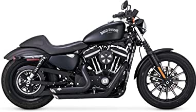 Vance & Hines 47229 Vance and Hines Shortshots Staggered Full System Exhaust for Harley Sportster 2014-18 models- Black