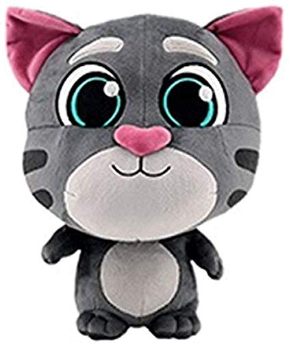 NC165 Birthday Gift Stuffed Plush Toys Talking Tom and Animal Friends Christmas Dolls for Kids Children (Color: Plush Tom 26cm Size: 11cm 30cm)
