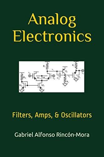 Analog Electronics Filters Amps Oscillators product image