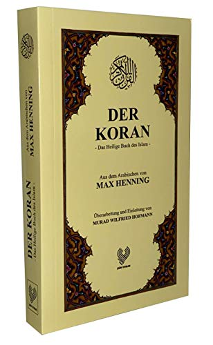 Der KORAN, das heilige Buch des Islam, Taschenbuch nur DEUTSCH