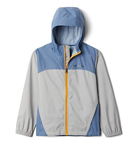 Columbia Boys' Toddler Glennaker Rain Jacket, Grey/Bluestone, 2T -  1574732041