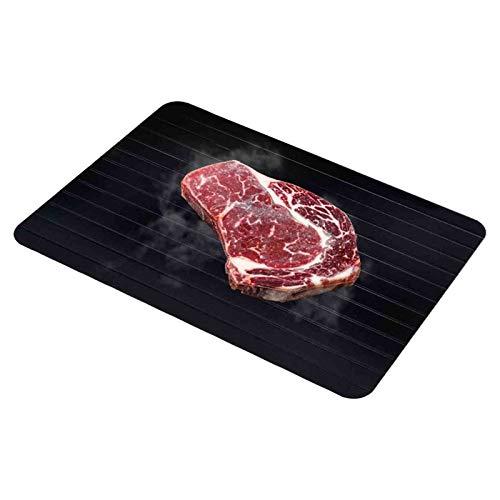 Platte Auftauen AGYH Schnell Abtauwanne, Aluminiumlegierung Abtauwanne for Geschirrspüler, Küchenwerkzeuge for Tiefkühlkost Und Fleisch, 3 Models (Size : Small)