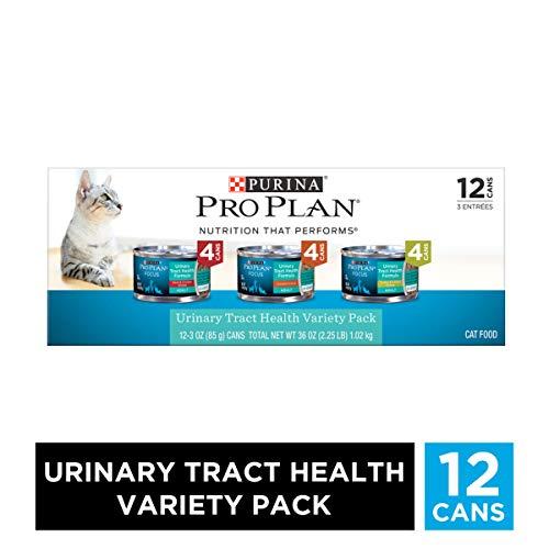 Purina Pro Plan Urinary Tract Health Wet Cat Food Variety Pack, FOCUS Urinary Tract Health Formula -...