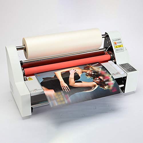 Laminator for Home Use School Teacher Office Automatic Laminating Machine,Multifunctional Hot and Cold Laminating Film Machine,for A3+ Paper Electronic Temperature Control LED Display,with Single and