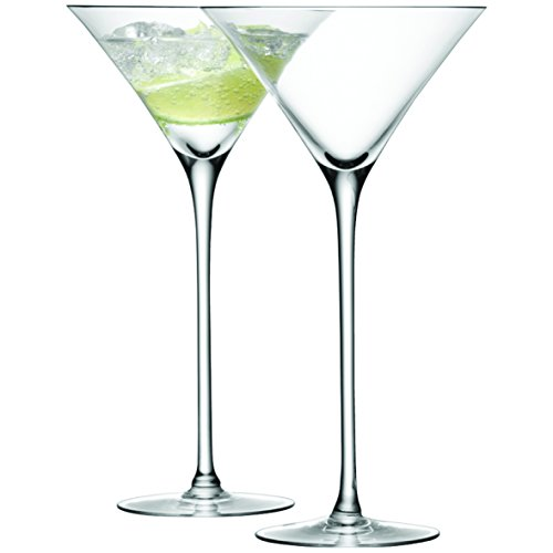 LSA International 275 ML Bar Verre à Cocktail, Transparent (Lot de 2)