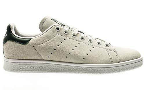 adidas Skateboarding Stan Smith ADV, Crystal White-Mineral Green-Footwear White, 9