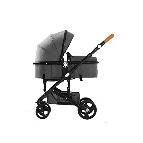 Fantastic Deal! Baby cart High Landscape Can sit Reclining Folded, Lightweight Two-Way Implementatio...
