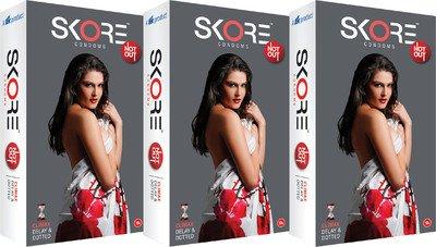 Skore Not Out Condom(set of 6 60 Condoms)