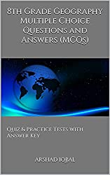 8th Grade Geography Quiz, MCQs & Tests