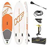 Bestway 65302 - Tabla Paddle Surf Hinchable Hydro-Force Aqua Journey 274x76x12 cm Con Bomba y Bolsa de Viaje