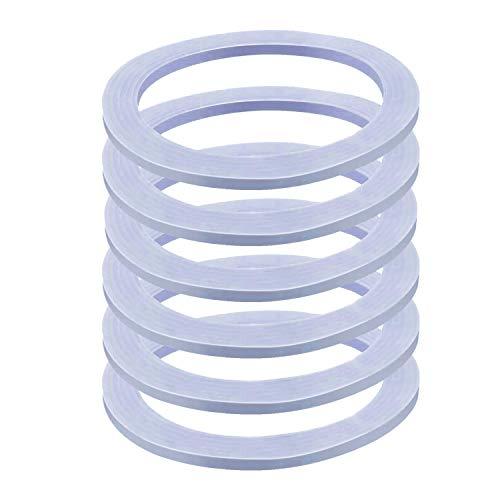 YUNQU 6 Packs Blender Sealing Ring Gaskets O-ring Gasket Seal O-Gasket Rubber,Compatible with Osterizer and Oster Blender Models