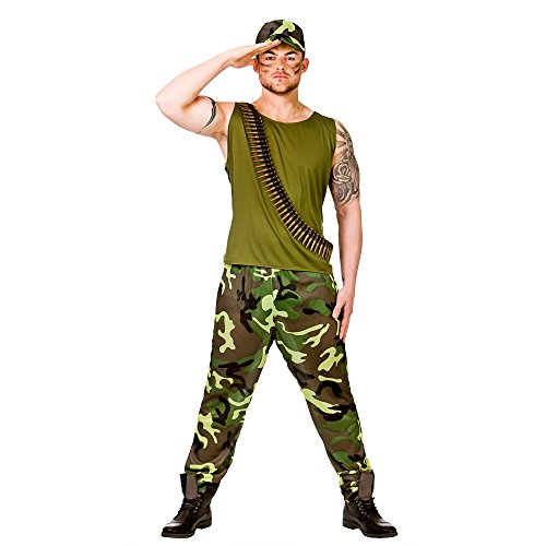 New Army Guy - Adult Costume Man: M (Chest: 41\