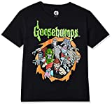 Mad Engine Kids Boys' Big Goosebumps Logo and Characters Glow-in-The-Dark Kids...
