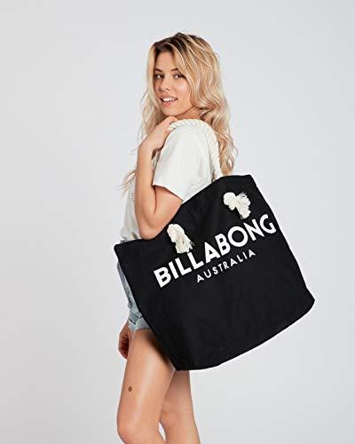 Billabong Essentials Tote, Bolsa de Playa para Mujer, Negro (19 Black), Talla Unica