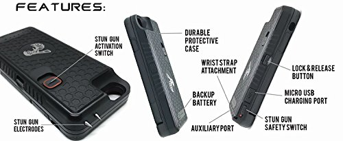 The Only High-Powered Stun Gun that Protects
