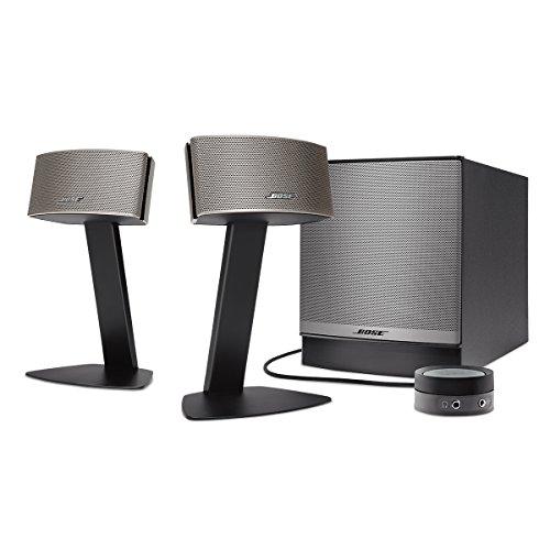 Bose ® Companion ® 50 - Sistema de altavoces multimedia, negro