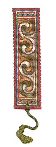 Textile Heritage Counted Cross Stitch Bookmark Kit - Celtic Spiral Dark
