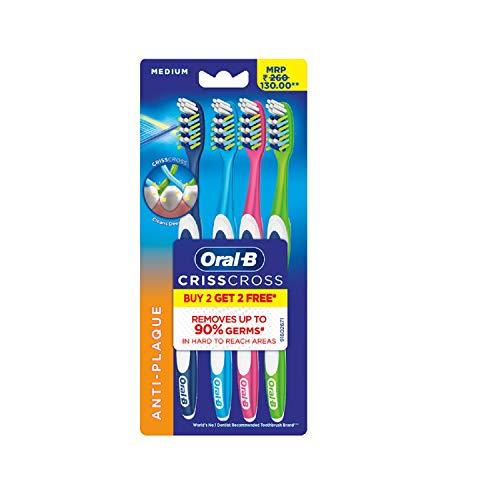 Oral B Pro health Toothbrush medium Buy 2 Get 2 Free