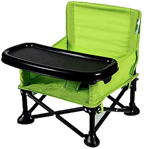 XIAOWANG Kindersitz Babystuhl,Kinder Klappstuhl, tragbarer Outdoor FoldingChair Multifunktions-Baby-Esszimmerstuhl für...