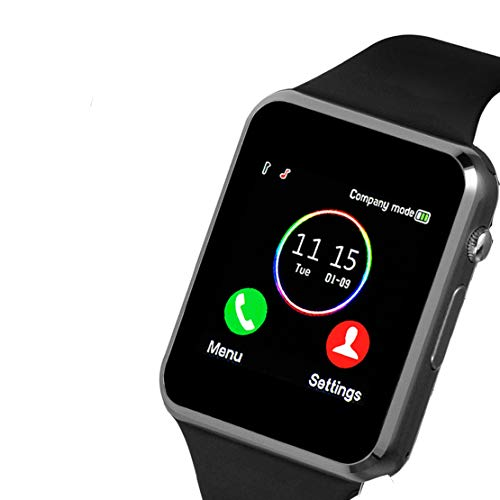 Smartwatch, Smart Watch with SIM Card Slot Camera Music Player Pedometer Text Call Reminder Compatible with Android Samsung and iPhone(Partial Functions) for Men Women Kids …