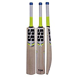 """SS Cricket Kasmir Willow Cricket bat  Bat Cover Included  Mens Size - Short Handle"""