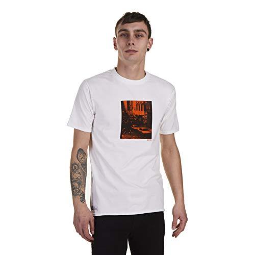 Zoo York Riot T-Shirt, Bianco (White Wht), Large Uomo