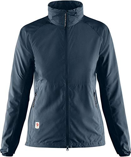 FJALLRAVEN Damen High Coast Lite Jacket W Jacken, Marineblau, L