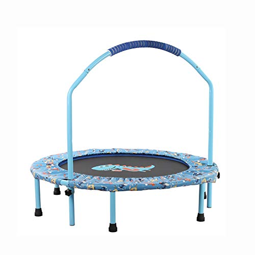 genneric Exercise Mini trampolines Adults Children Elastic Fitness Gym Indoor Fitness Trampoline/Home Workout Workout 48 inches