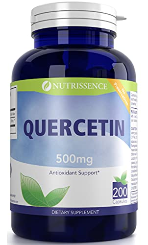 Quercetin 500mg 200 Capsules - Nutrissence by Nutrissence