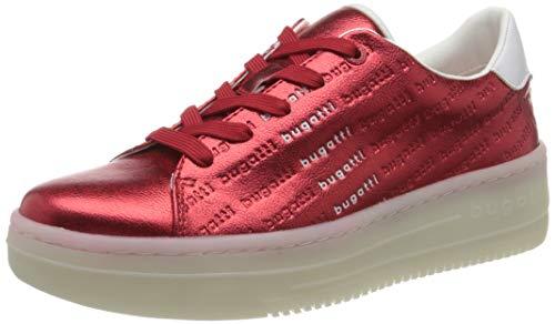 bugatti 432866015050, Zapatillas Mujer, Rojo (Red/White 3020), 39...