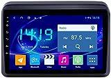 AEBDF Android 9.1 Navegación estéreo de automóvil para Suzuki Ertiga 2018-2019,9 Pulgadas Sat Nav TOUP Pantalla táctil Bluetooth Player Multimedia con Enlace de Espejo,8Core WiFi+4G 4+32 DSP+Carplay