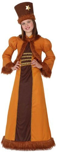 Atosa-15852 Disfraz Rusa, color marrón, 3 a 4 años (15852)
