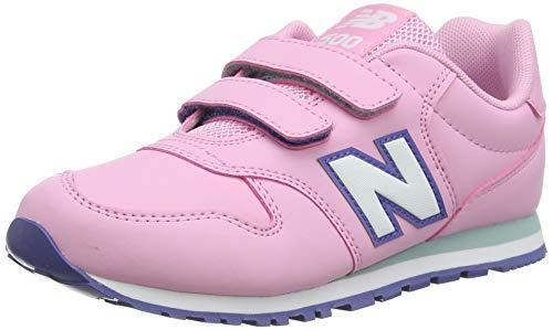 New Balance 500 YV500RPT Wide, Zapatillas para Niñas, Pink (Candy Pink RPT), 29 EU