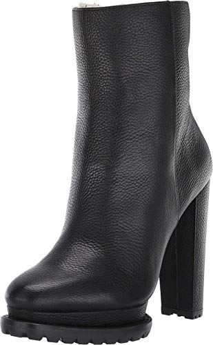 Alice + Olivia Holden Shearling Boot Black 38.5 (US Women's 8.5) M