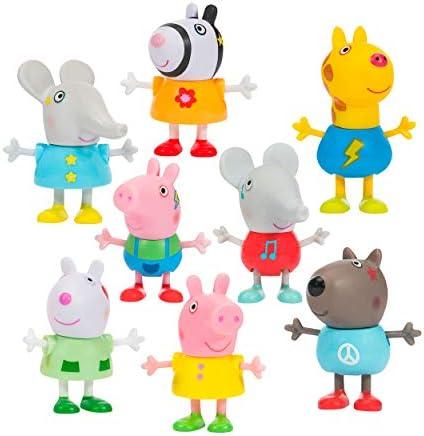 Peppa Pig 07207 en bois Family figures