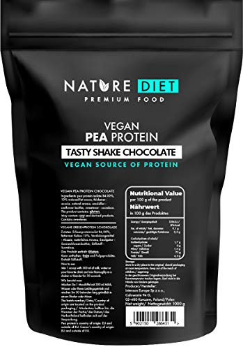 Nature Diet Vegan Pea Protein Shake, Chocolate