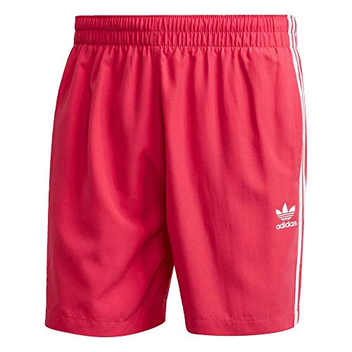 Adidas 3 Stripes Swimshorts Boardshorts Shorts (M, pink)