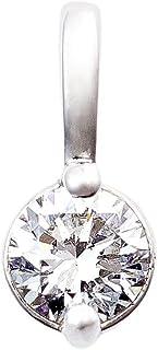 カナディアンダイヤモンド ペンダントヘッド 0.10ctUP [PT950] 専用ケース付
