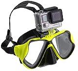 Navitech grüne Tauchmaske mit Halterung Kompatibel mit icefox FHD Underwater Action Camera