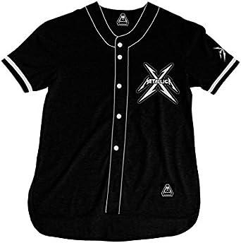 Metallica - Camisa - San Francisco Baseball Jersey: Amazon.es ...