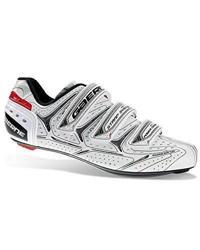 Gaerne G.Altea - Zapatillas de Ciclismo (Talla 46), Color Blanco