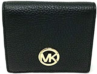 Michael Kors Women's Fulton Carryall Leather Wallet (Black)