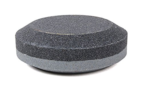 Lansky Sharpeners Unisex's Puck Dual Grit Sharpener-Grey, One Size