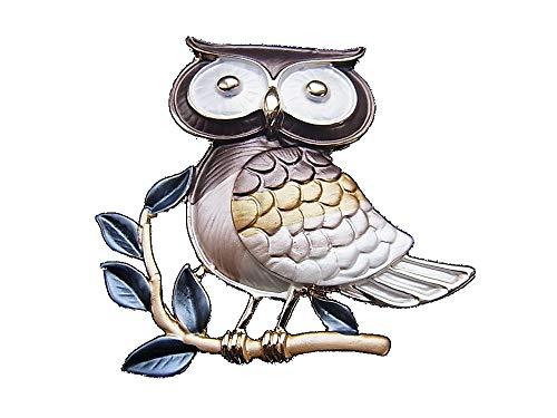 Brosche Magnetbrosche Schal Clip Bekleidung Poncho Taschen Stifel Textilschmuck Eule Uhu Owl
