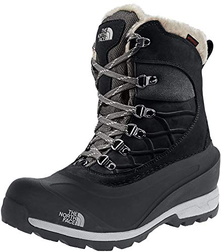 The North Face Women's Chilkat 40, TNF Black/Zinc Grey, 9.5